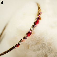 Fashion Women Girls Rhinestone Crystal Headband Barrette Accessories Hairpin Clip Hairwearhot