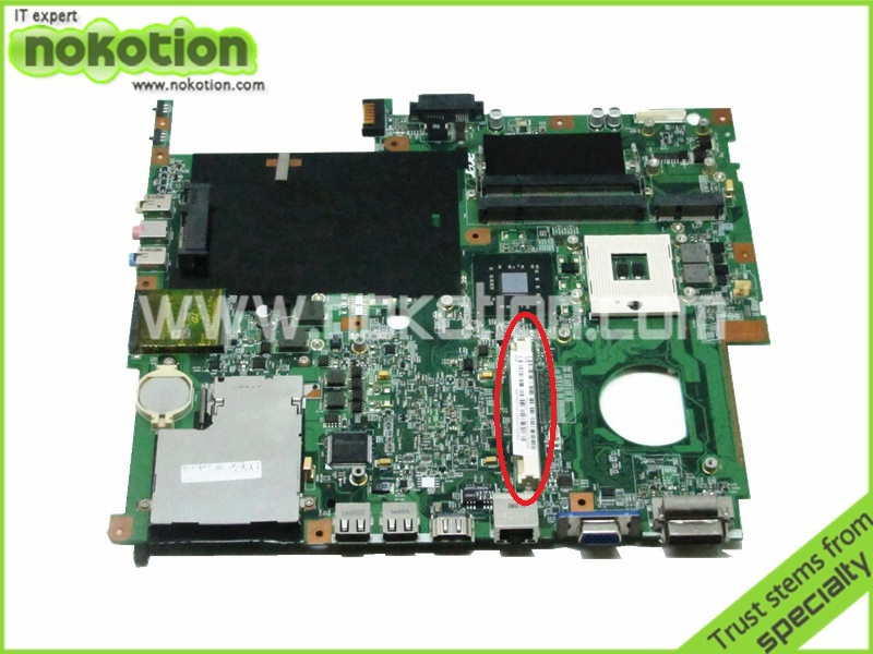 laptop motherboard for acer extensa 5630 5230 5320 5930 48.4Z401.01M MBTRD01001 PM45 DDR2 with graphics slot(China (Mainland))