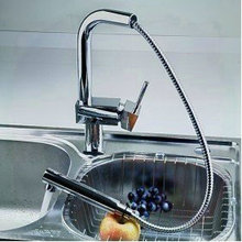 three holes Newly waterfall kitchen faucet chrome finish bathroom tap mixer N578 torneira eletrica banheiro