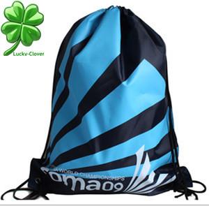 2015 New Men's gym bags School sports shoulder Drawstring Bags women beach swim outdoor print Hiking Tr