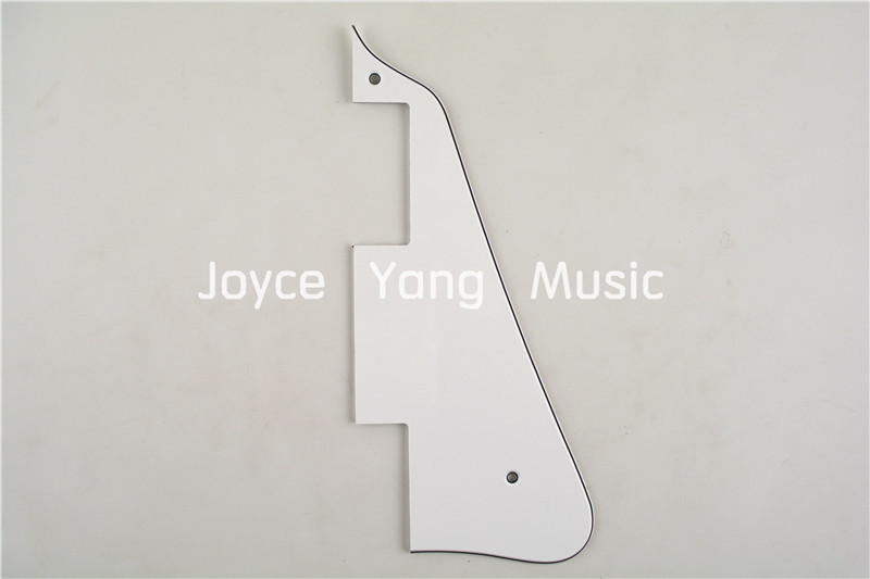 White 3 PLY Electric Guitar Pickguard For LP Style Electric Guitar Free Shipping Wholesales(China (Mainland))
