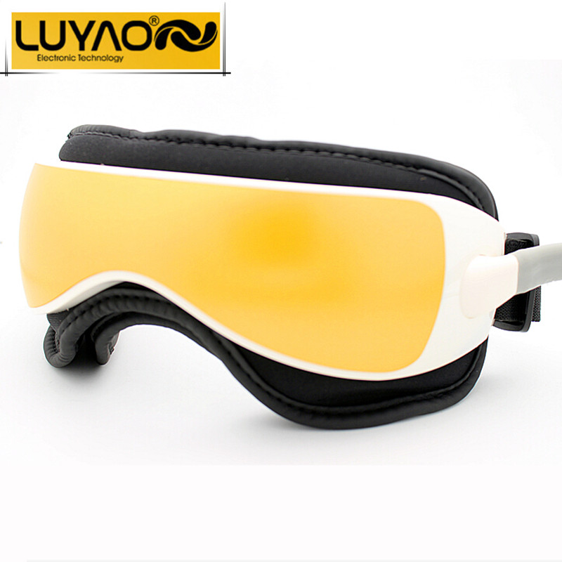 LUYAO Air pressure Eye massager with Music functions.Magnetic far-infrared heating.Vibration therapy myopia breo pangao massager(China (Mainland))