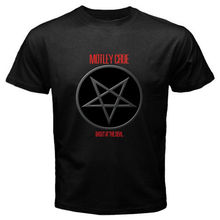Buy Design T Shirt New Motley Crue Pentagram Logo Metal Rock Band Black Size S-2Xl O-Neck Short Sleeve Casual Tee Shirts for $11.99 in AliExpress store