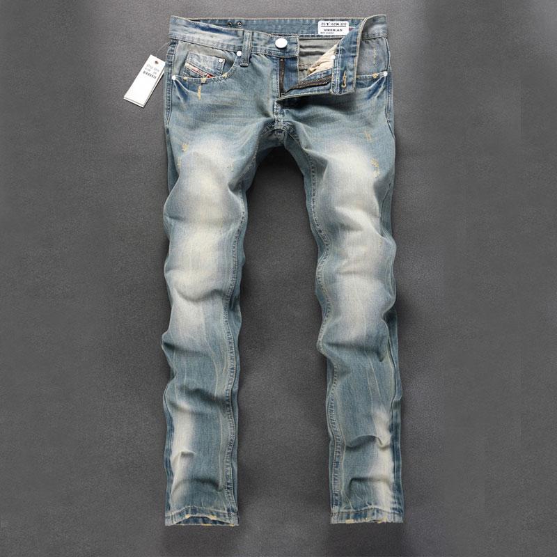 2015 New arrival mens jeans hot sale men fashion pants brand design printed jeans 100% cotton men biker jenas Одежда и ак�е��уары<br><br><br>Aliexpress