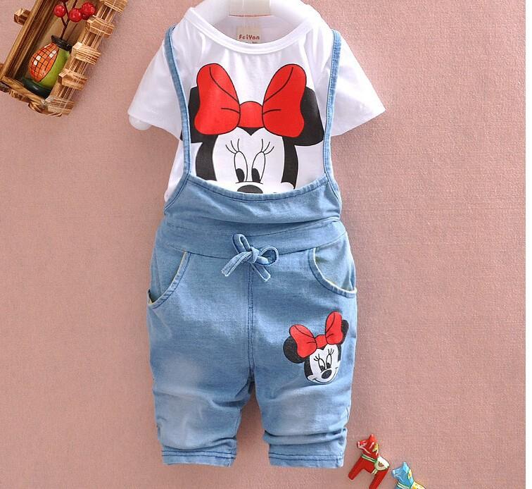 костюм для девочек Микки Маус синий фото