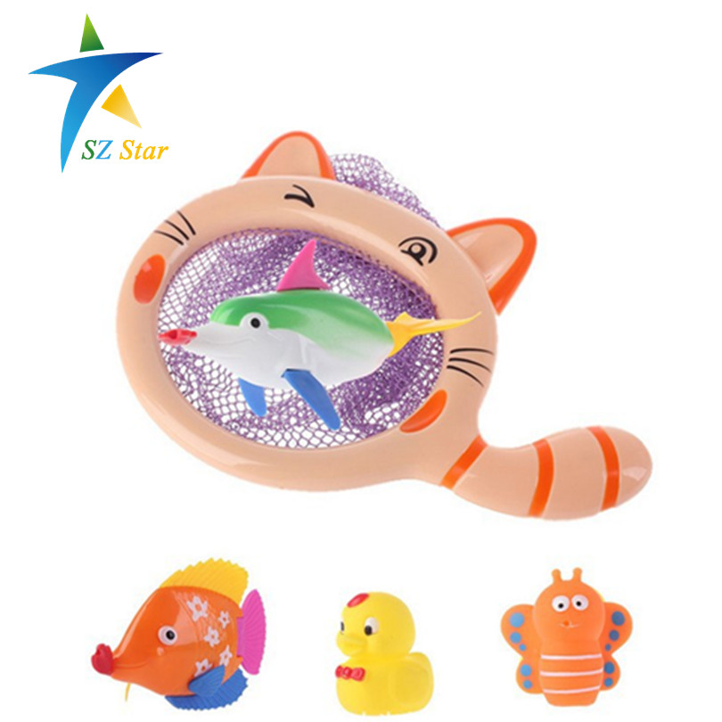 fishing baby bath toys game for children kids automatic swim fish bathroom bathtub toys play. Black Bedroom Furniture Sets. Home Design Ideas