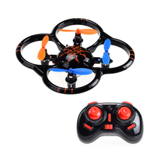 Nihui U207 Pocket Drone Nano RC Quadcopter Mini Helicopter 3D Flip UFO with LED Light Remote Control Toy Kid Children's Gift