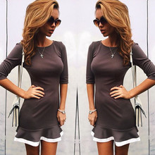 Women Winter Dresses 2016    Women's Dress Autumn  Casual  Dresses  Dress Women Sexy Party vestidos Plus Size Female  Bodycon(China (Mainland))