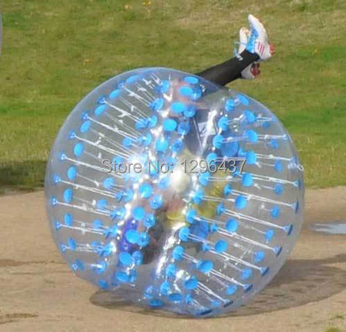 1.0 TPU inflatable bubble loopy ball, body zorb footbal ltoy,plastic balls(China (Mainland))