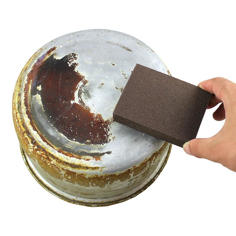 10pcs/lot Emery Nano Sponge Magic Eraser Cleaning cotton Kitchen Clean Supplies Rub pot Except rust Melamine Sponge 10*7*2.5cm(China (Mainland))