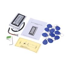 Metall Wasserdichte Access Control System 10 Stücke Schlüsselanhänger ID Kartenleser Tastatur Tür Sicherheit DC7-30V Wiegand 26 Schnittstelle 125 kHz(China (Mainland))