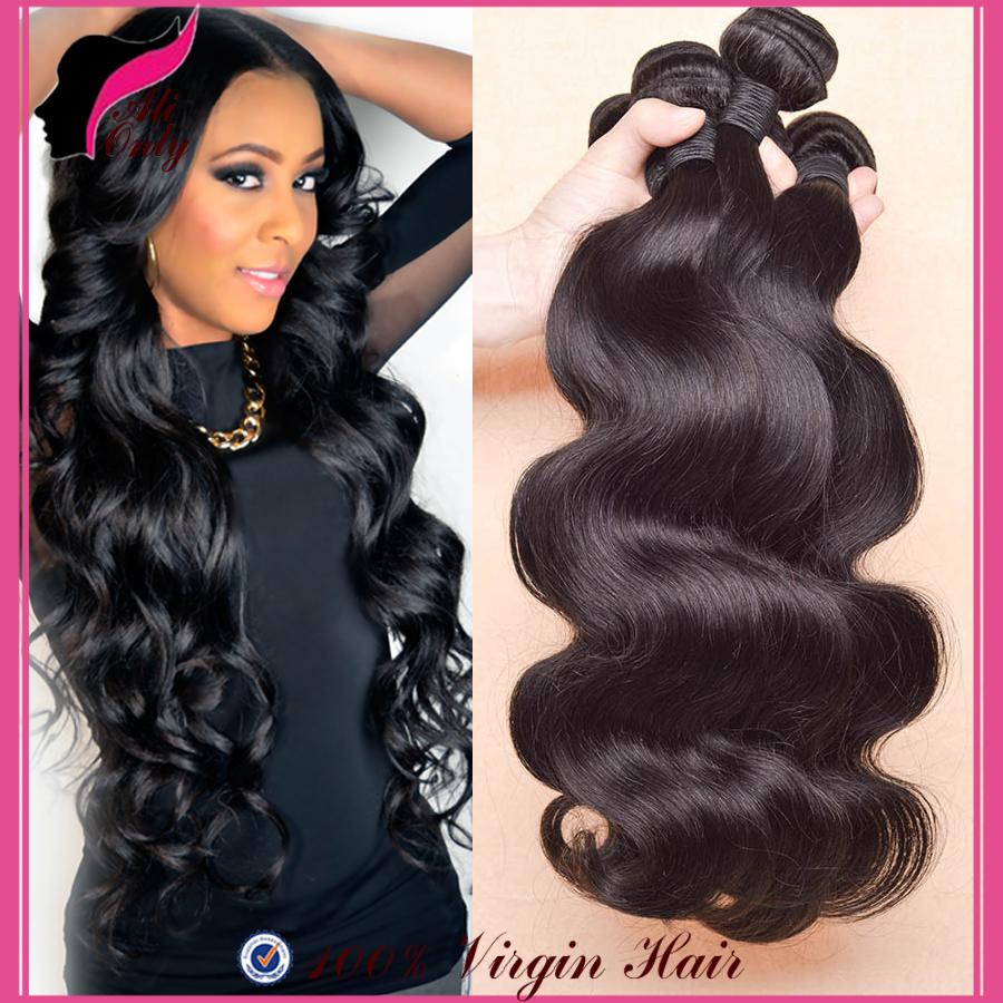 Queen Hair Products Brazilian Virgin Hair Body Wave 3Pcs Brazilian Body Wave 8-30Brazilian Hair Aliexpress Human Hair Extensions(China (Mainland))