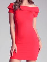 Nextshe Women Fashion   Off Shoulder bodycon Fitted Dress Size XS S M L XL XXL(China (Mainland))