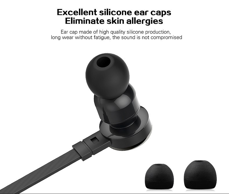 FuQing C1 Original stereo 3.5mm Headset In-Ear Earphones With Mic For iPhone Samsung MeiZu Tablet For mp4 mp3 Player