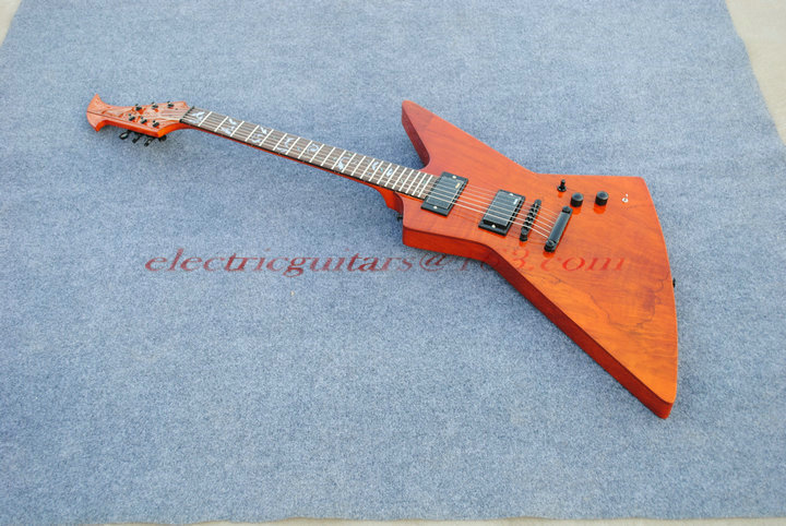 gbson shape electric guitar basswood body with rosewood top  rosewood fengerboard according the customer requirment(China (Mainland))