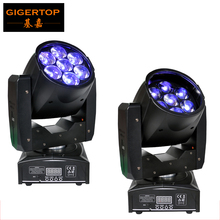 Buy Freeshipping 2XLOT 7*12W Big Lens RGBW 4IN1 LED MINI Moving Head Light 16CH DJ Stage Disco club Show lighting DMX 512 Controller for $389.00 in AliExpress store
