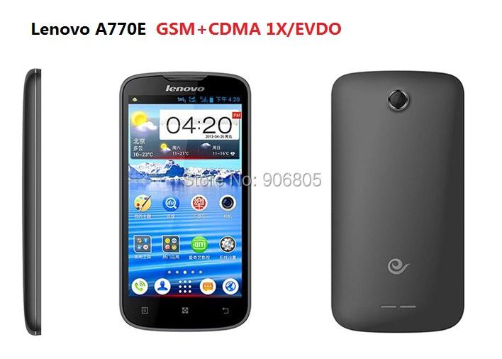 Free shipping Original new Lenovo A770E CDMA Android smart phone EVDO 2000 1X CDMA phone(China (Mainland))