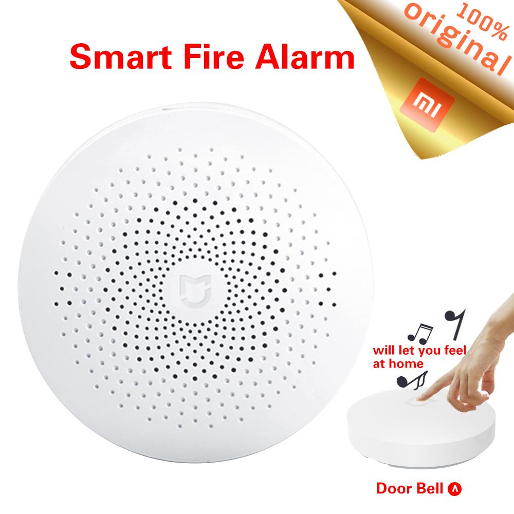 100% Original Xiaomi MI Home Gateways 2 Intelligent Doorbell WiFi Remote Control Xiaomi Smart Home Mihome APP Control