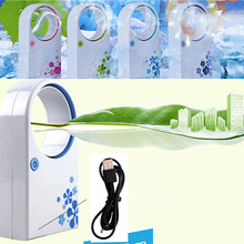 PORTABLE HANDHELD AIR CON AIR CONDITIONER DESKTOP FAN COOLER USB MINI