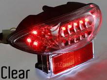 LED Brake Tail Light Turn Signal for Suzuki Hayabusa GSX1300R 1999 2007 Clear(China (Mainland))