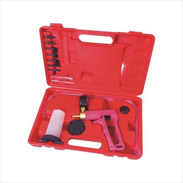 Deluxe Hand Held Vacuum Pump Brake Bleeder Set - Tester Bleed Kit For Cars Etc(China (Mainland))