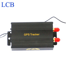 Free shipping Real time coban vehicle car gsm gps tracker motocycle with remote control GPS103B TK103B car tracker device(China (Mainland))
