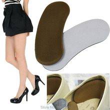 shoe Inserts Shoe Cushion Women Sticky Shoes Heel Inserts Protector Accessories Novetly 2016 New Hot Sale