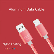 Buy Nylon Micro Usb Cable Charger Data Transfer Wire Sync Usb Charging Cable Cord Android Device for $1.33 in AliExpress store