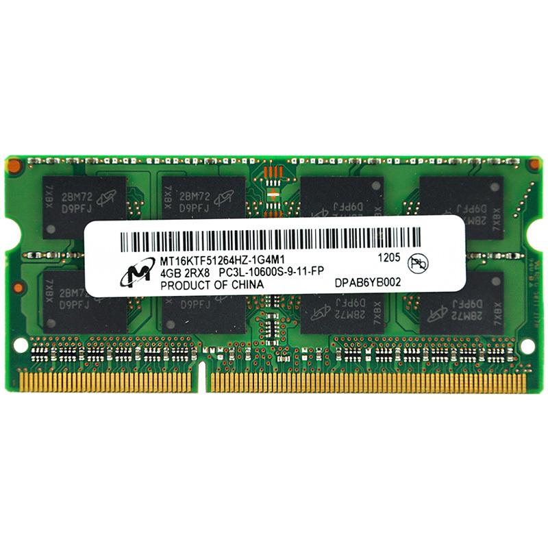 Micron Brand Memoria RAM Bar Laptop DDR3 L 4GB DDR3L 1333 MHZ 4G PC3L-10600S Sodimm 1.35V DDR 3 Notebook Computer Memory - Shen Zhen 3C Digital Franchise Store store