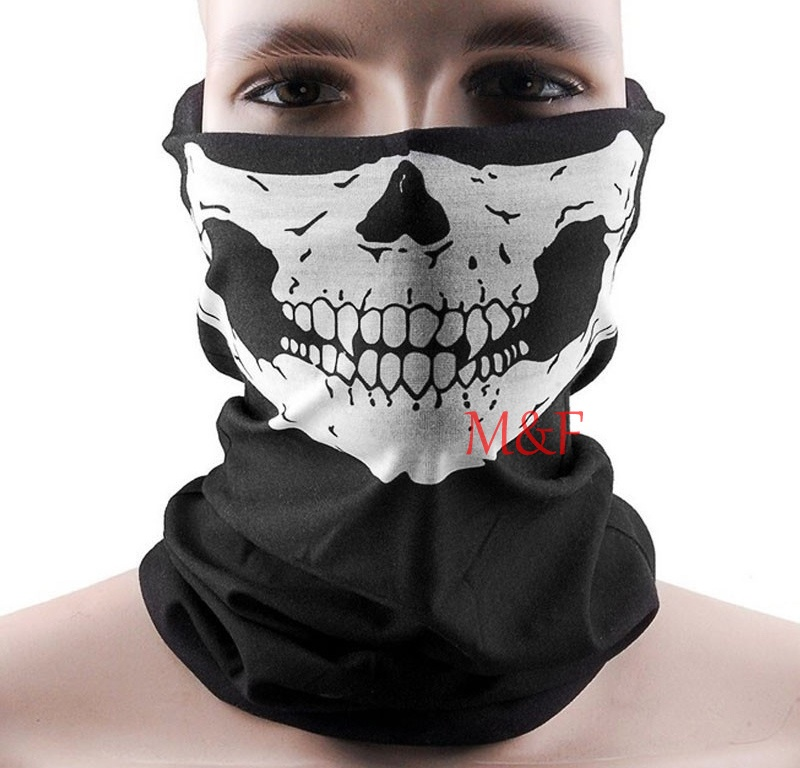 Fashion Cool SKULL Ghost Face Sexy Mask Head Haress Halloween Cosplay Nightclub Sex Toys For Women Men Sexo Products(China (Mainland))