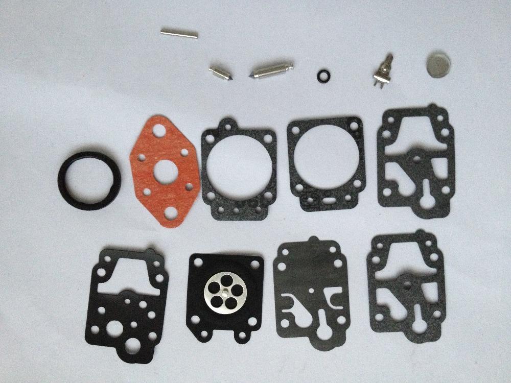 5Sets Carburetor Carb Rebuild Kit Gasket Diaphragm for Walbro K20-WYL Honda GX22 GX31 LE230 Echo GT1100 GT2101 Ryobi WYL-240(China (Mainland))