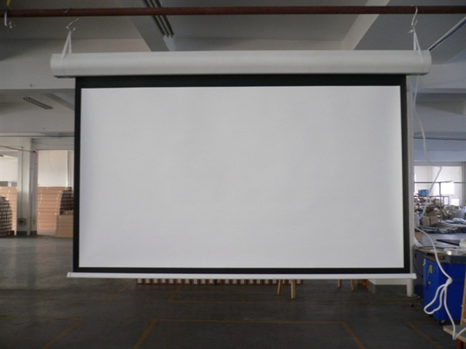180 39 39 Electric Motorized Projector Screen In Projection