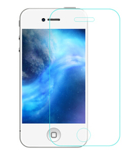 5 pcs for film de protection iphon 4 4s screen protector 0.3mm explosion proof tempered glass pelicula de vidro for iphone 4 4s