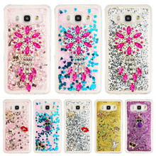 "Buy DEEVOLPO Bling Glitter Rhinestone Moving Quicksand Soft TPU Case Samsung Galaxy J5, 2016 J510 J510x Cover 5.2"" Cover DP31 for $3.98 in AliExpress store"