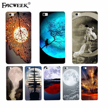 Full Moon Night Ligth Phone Cover Huawei P8 Lite Silicon Case Soft Back Ascend Mini Printing Funda Coque - GoldMaker Technology Co., Ltd store
