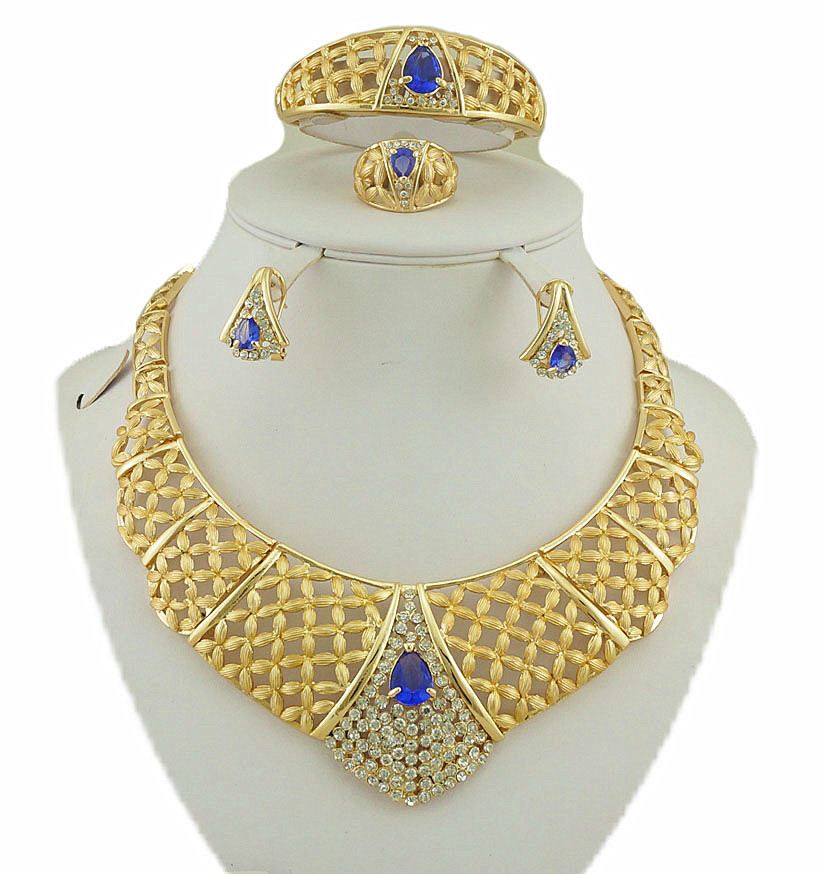 Aliexpress.com : Buy african gold jewelry sets color ...