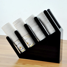 L BEANS Starbucks 85 takeaway coffee cup holder tea tray of disposable cups cupholders storage shelf