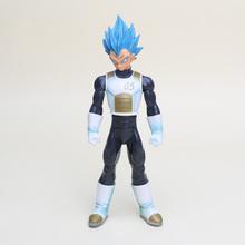 Buy 24cm Dragon Ball Z blue hair Vegeta Master Stars Piece Figures Super Saiyan God SS Vegeta PVC Action Figure Toys for $11.20 in AliExpress store