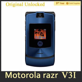 Мобильный телефон MOTOROLA RAZR V3i, v3i DG Vesion четвёрка лента Bluetooth 1.3 mp камера отремонтированный мобильный телефон