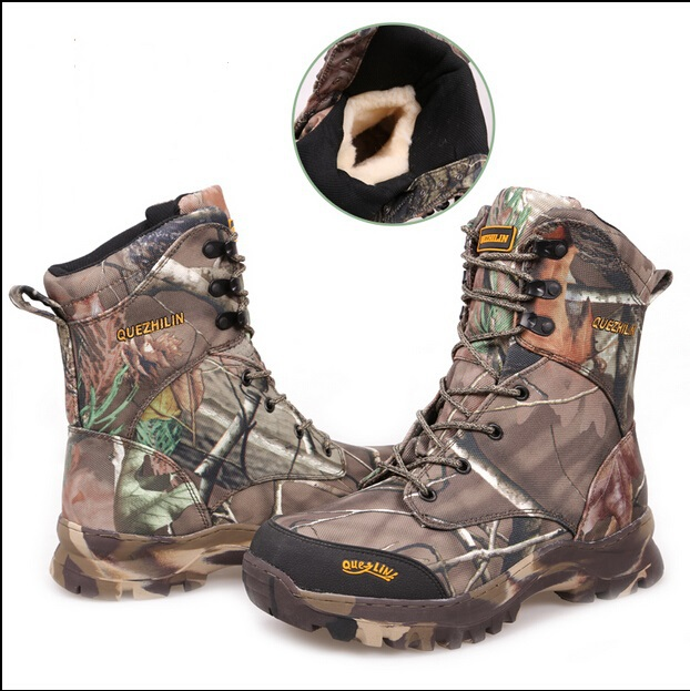 Camo Hunting Boots Realtree AP Camouflage Snow Boots