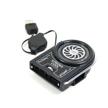 Notebook Laptop Vacuum USB Case Cooling Fan Cooler Pad