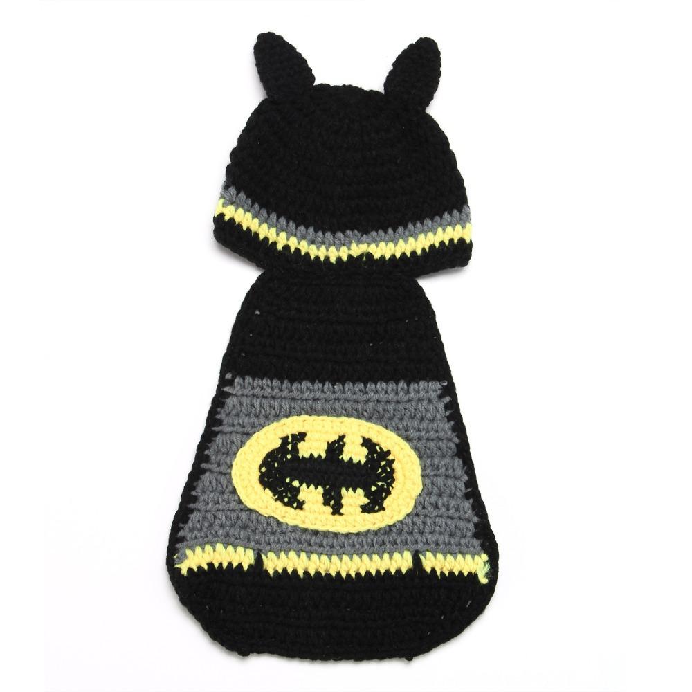 Infant batman hat crochet pattern dancox for newborn baby batman hat crochet pattern infant photography dt1010fo