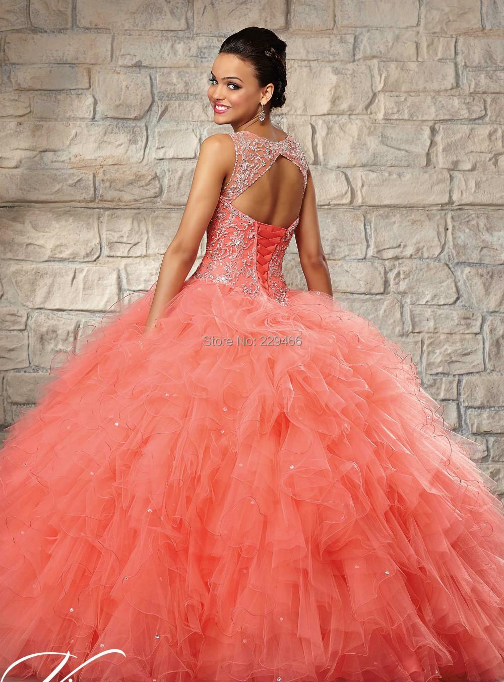 Pink Quinceanera Dress Cocktail Dresses 2016