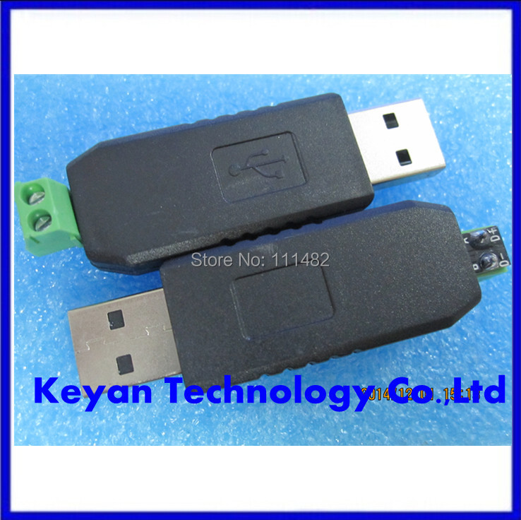 1pcs , USB to RS485 USB-485 Converter Adapter Support Win7 XP Vista Linux Mac OS WinCE5(China (Mainland))