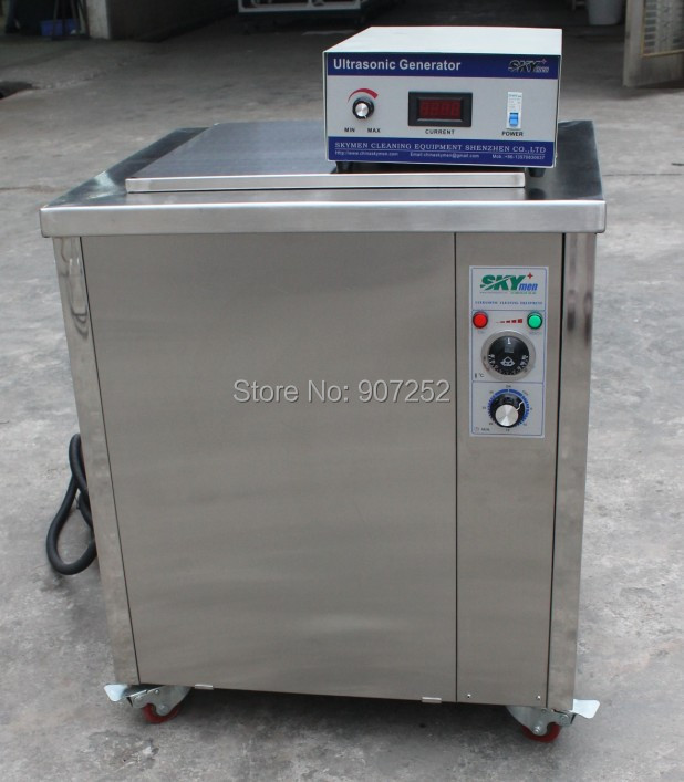 skymen ultrasonic car parts cleaning machine ultrasonic cleaner 100 liters(China (Mainland))