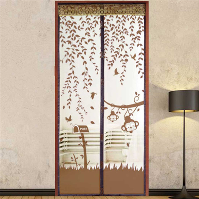 Durable Hot Sale 1Pcs 4 Colors Summer Style Mesh Prevent Mosquito Kitchen Window Curtains Fast Shipping(China (Mainland))