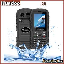 Huadoo H1 2.0″ Nucleus OS Waterproof / Shockproof / Dustproof Mobile Phone MTK6261A Dual SIM Bluetooth Outplay FM Torch GSM