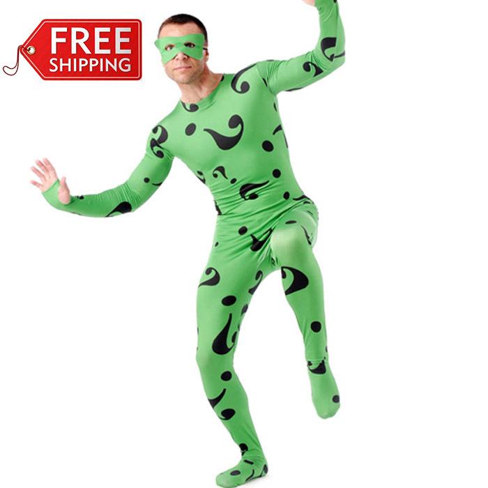 Riddler Costume For Kids Riddler Costume Adult