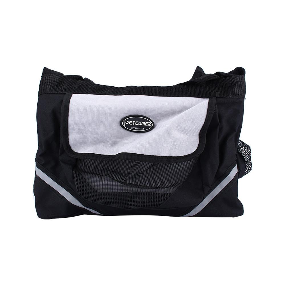 1Pcs Black Bicycle Bike Small Pet Dog Cat Front Bag Carrier Basket Outdoor Travel(China (Mainland))
