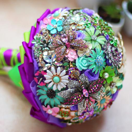 Свадебные букеты из Китая